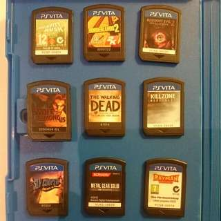 Pre- Owned Ps Vita Games For Sale!! (All TITLES Reserved)