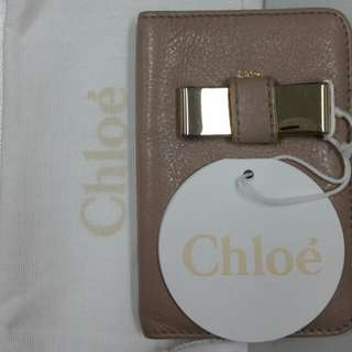 RARE Authentic CHLOE Lily Leather Bow Phone Holder/case PRICE UPDATED