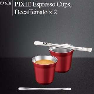 Nespresso Pixie Espresso Cup Set (Brand NEW in BOX)