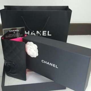 Brand New Chanel Cambon Wallet Pink Interior