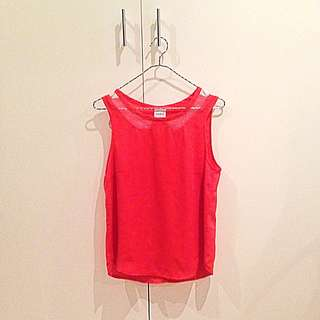 Loverbird Mesh Collar Top