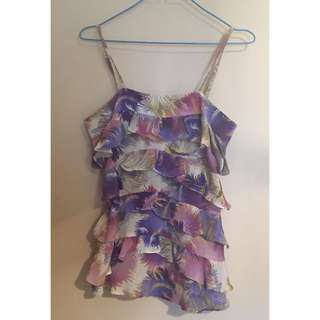 Wish Floral Frilled Cami