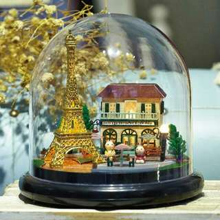 (Instock) DIY Miniature Together Around Series - Romantic Paris