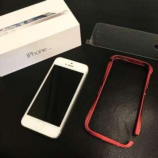 Apple iPhone 5 16G 銀 我最便宜