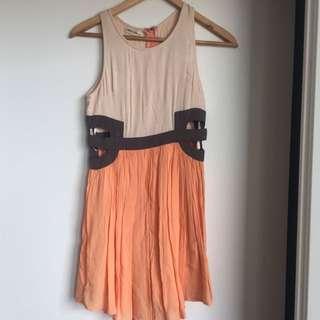 Mika & Gala Cut Out Dress