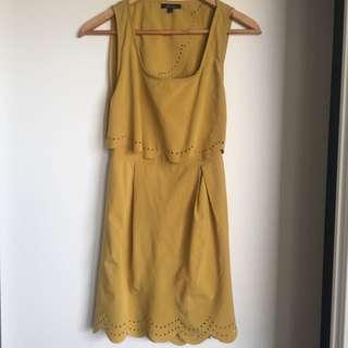 Maxim Scallop Dress