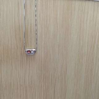 銀色鎖骨鍊