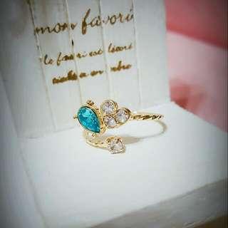💍正韓💍鋯石愛心可調式戒指💍