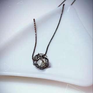 💞復古鎳色項鍊👍