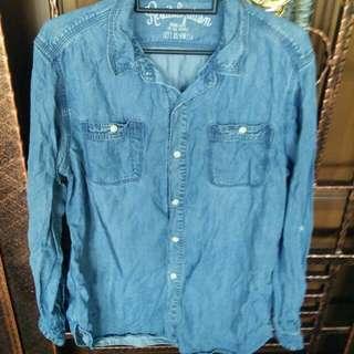 RESERVED Jean Shirt / Kemeja Jean / Bf Shirt