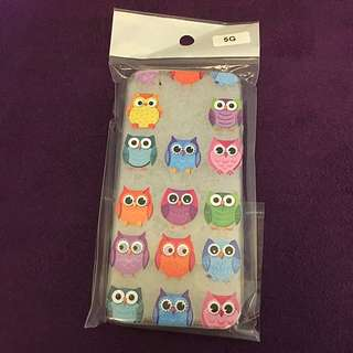 iPhone 5/5S Mobile Cover - Owl Design