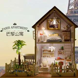 (Instock) DIY Miniature - Paris Apartment