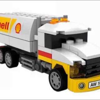 Limited Shell Lego Tanker