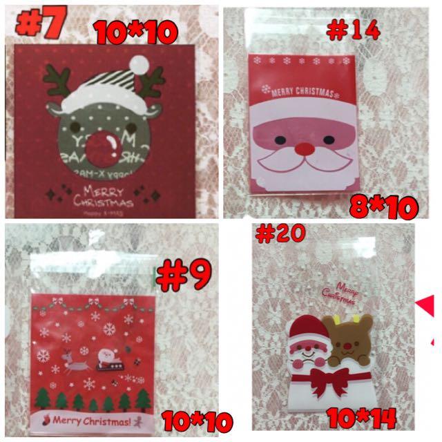 ✨全新現貨限量優惠✨聖誕節包裝袋/自黏袋
