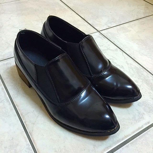 暫售(等待匯款)英倫風小皮鞋