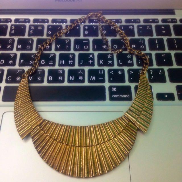 埃及風古金短鏈