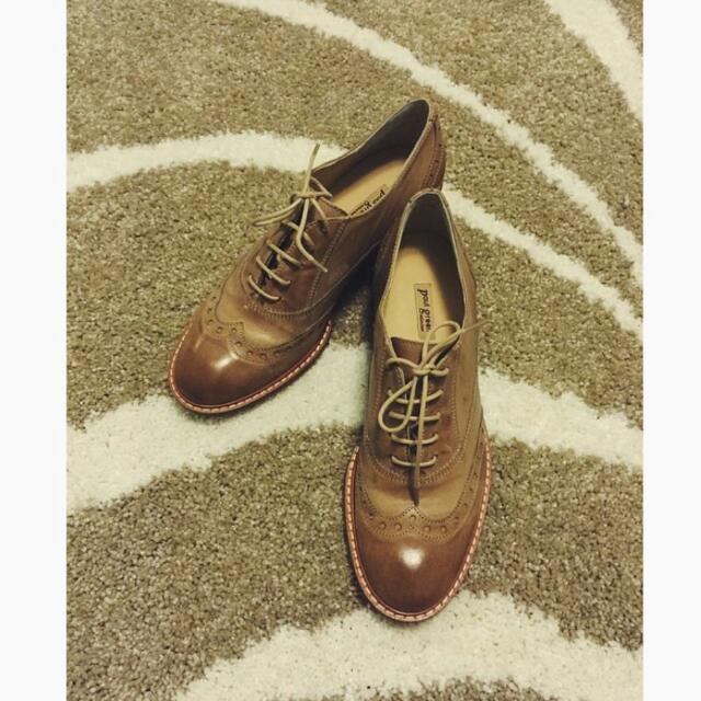 徵 牛津鞋