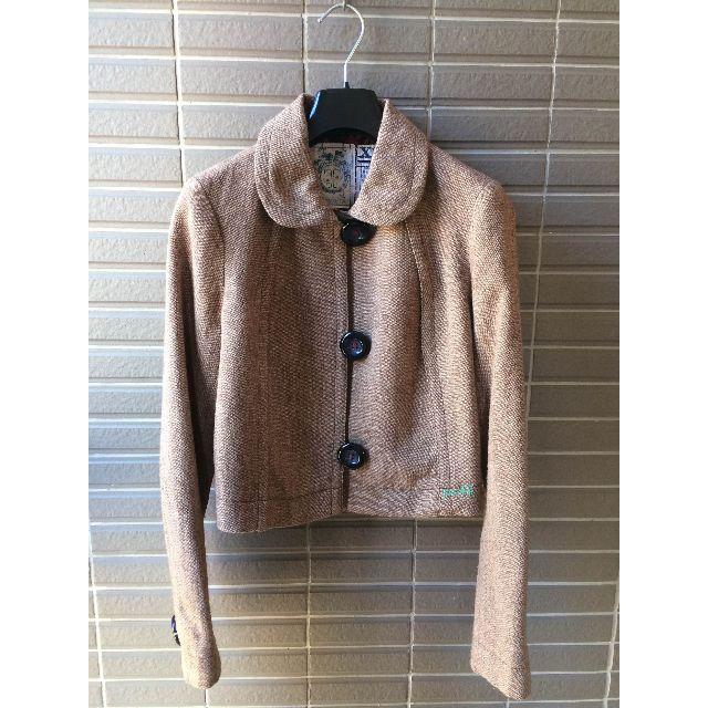 美國購回 TROVATA  咖啡色毛料短外套
