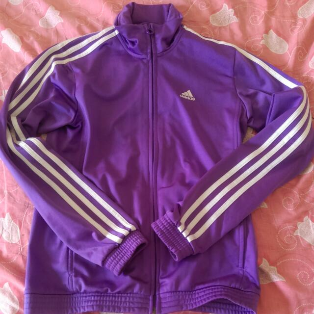 Adidas紫色外套