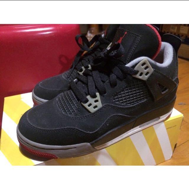 (降價)Air Jordan 4代 黑紅