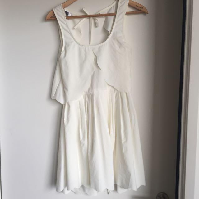 Angel Biba Scallop Dress