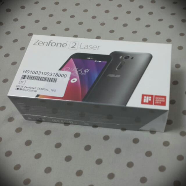 ASUS ZenFone 2 Laser (ZE500KL) 2G/16G 髮絲紋灰色/5吋/四核心/雷射對焦