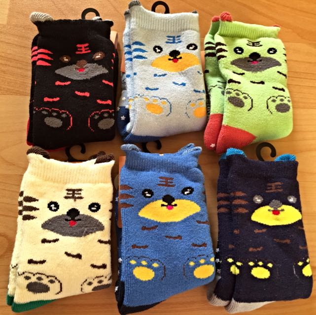Baby Socks  嬰兒厚中長襪