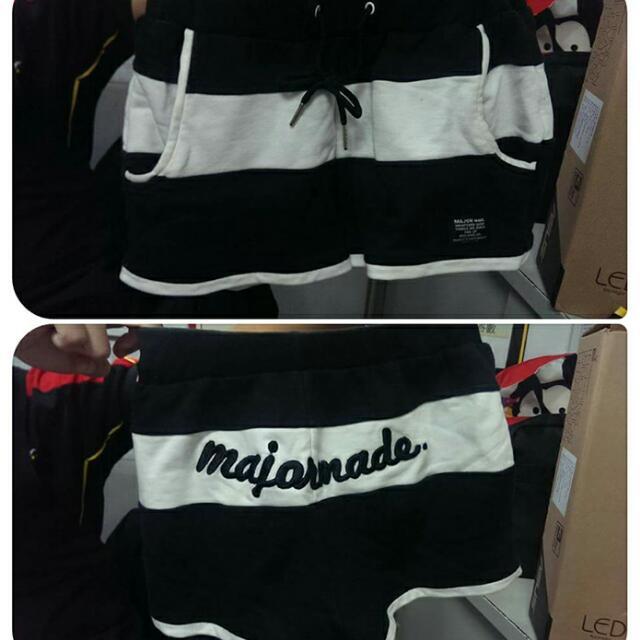 Major Made 黑色短褲 S號