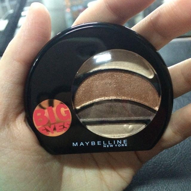 Maybelline BIGEYES大眼眼影盤#BR-2
