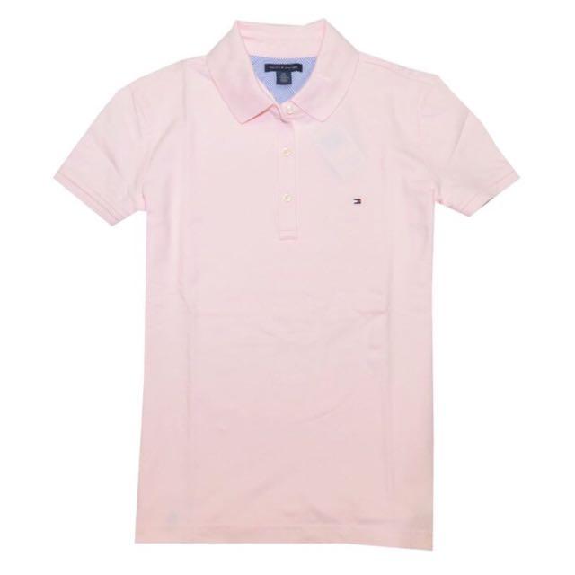 d5e10fc8 Tommy Hilfiger Women's Classic-Fit Polo T-Shirt, Women's Fashion on ...