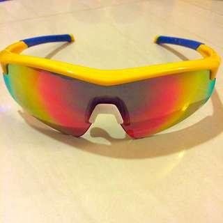 【ZIV 運動太陽眼鏡】Flying可拆換式光學內視鏡(黃#38-B104002)
