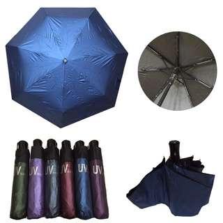 超低價色膠自動傘