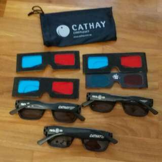 3D Glasses Cathay And Mixture 7pcs
