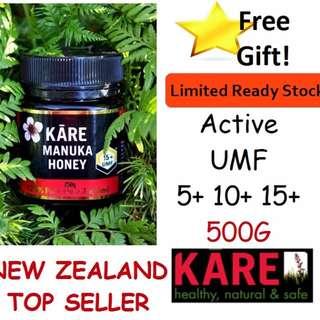 Kare Manuka Honey NZ Top Seller UMF5 10 15