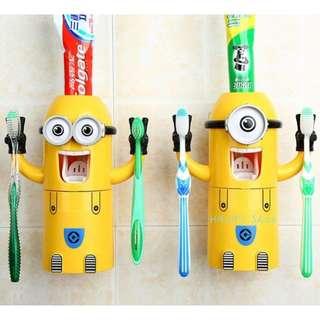 小小兵擠牙膏器