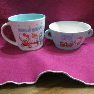 🎄Hello Kitty 杯碗兩件組