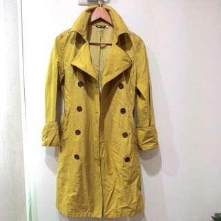 800元 風衣 外套 大衣 全長領口至下擺  約 95公分 保存良好