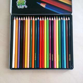 Pack Of 24 Colouring Pencils
