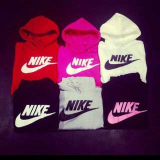 Nike帽T 粉 (仿正)