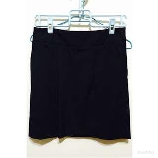 NET 黑色條紋OL窄裙 短裙