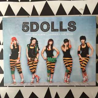 5 Dolls First Mini Album: Charming Five Girls
