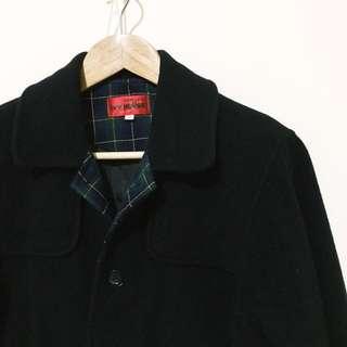 💛復古學院黑色大衣