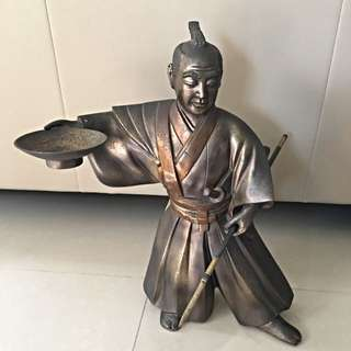 Japanese Warrior statue *RARE*