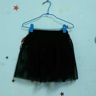 太空綿短裙