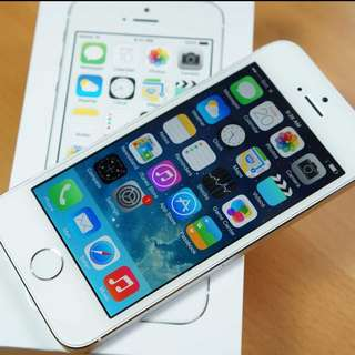 iPhone 5s 32gb White Mint Condition