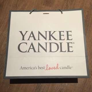 Yankee Candle With Candle Bahama Breezee