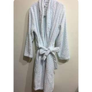 (全新)珊瑚絨加厚睡袍
