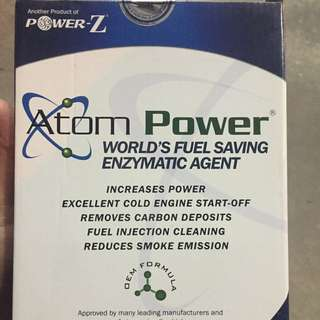 Atom Power Worlds Fuel Saving ENMATIC AGENT