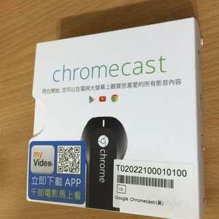Google Chromecast 電視棒  (補貨中)