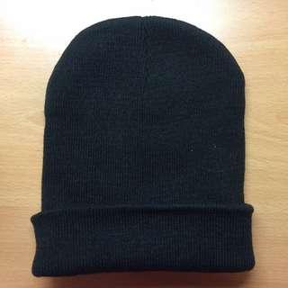 黑色針織毛帽(現貨)